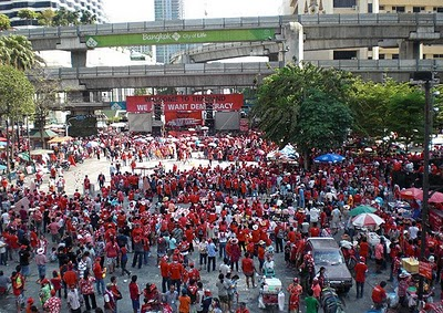 red shirts protest