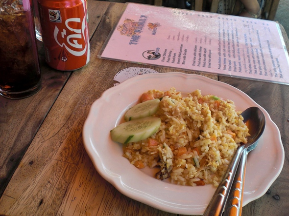 shrimp fried rice bangkok