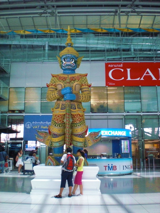 Suvarnabhumi Airport is beatuiful, immigration though is a nightmare