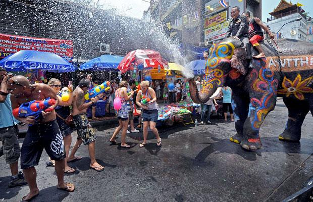 Have fun at Songkran, but don't drink and drive