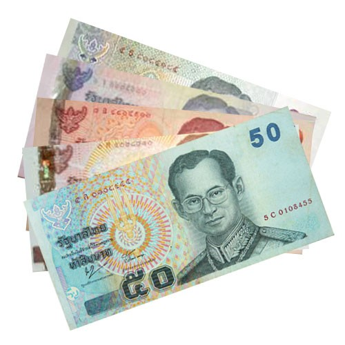 Thai Baht Has A Lower Exchange Rate Outside Thailand