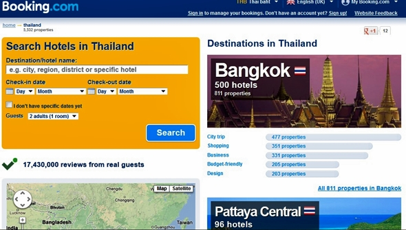Best Websites To Book Cheap Hotel Rooms In Thailand