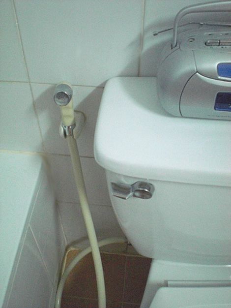 How to Use the Bum-Gun (Toilet Hose) in Thailand: Keep Yourself Clean With a Squirt of Water