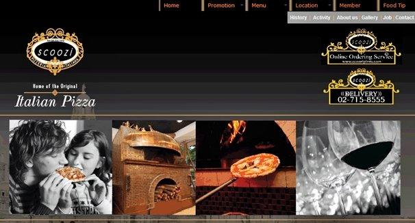 scoozi pizzeria bangkok