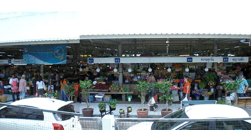 Aw Taw Kaw farmers' market one of the best farmers markets in Bangkok