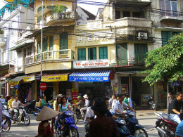 Hanoi street - copyright permanently scatterbrained