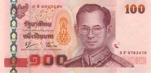 The Thai Baht Has Been Volatile For At Least Last Month With Its Value Against Dollar Fluctuating Quite Wildly It Ended Up Down By Four Percent