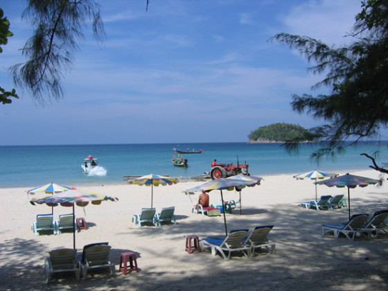 Beaches on Phuket are gorgeous, but the ocean waters can be dangerous