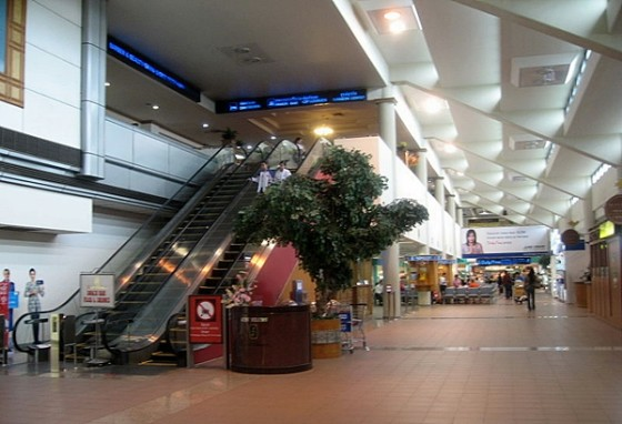Don Mueang Airport's Terminal 2 - copyright Terence Ong, Creative Commons License