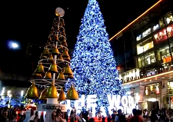 where to buy christmas decorations in bangkok thailand video
