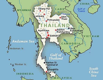 Where Is Thailand No Seriously Where Is The Country Located - Where is bangkok