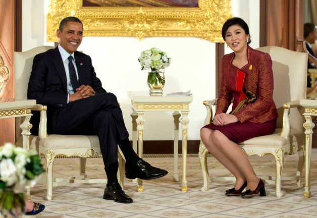 president obama meets king bhumibol adulyadej and visits