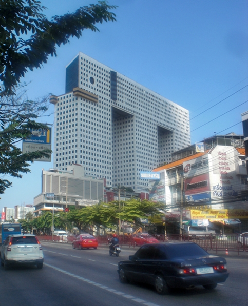 The elephant building - just one of the many amazing sights you'll see in Bangkok