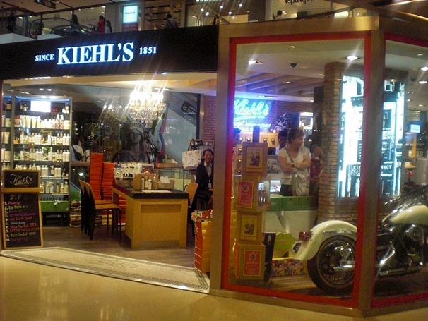 The Kiehl's at Central Ladprao in Bangkok, Thailand.