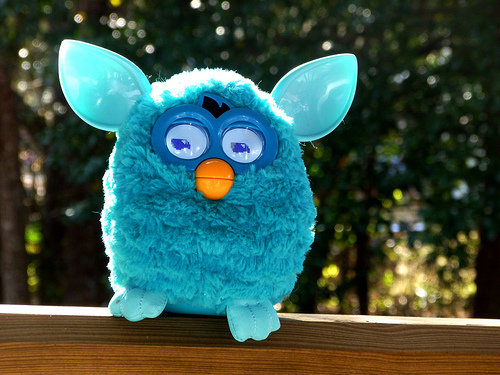 Furby 2012 - copyright Richard Elzey, Creative Commons