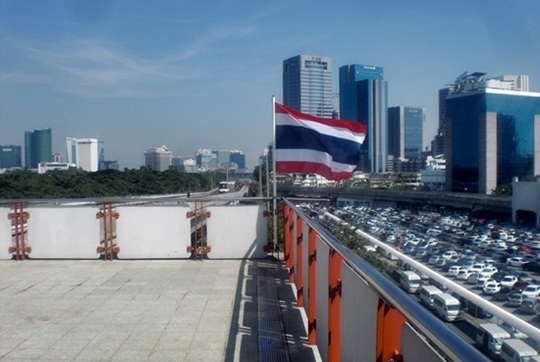 What does Thai flag look like