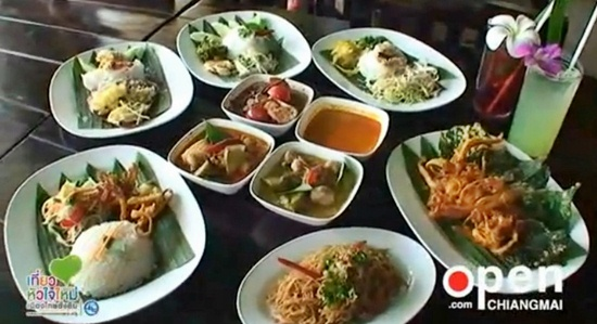 kanum jeen all you can eat noodle buffet chiang mai