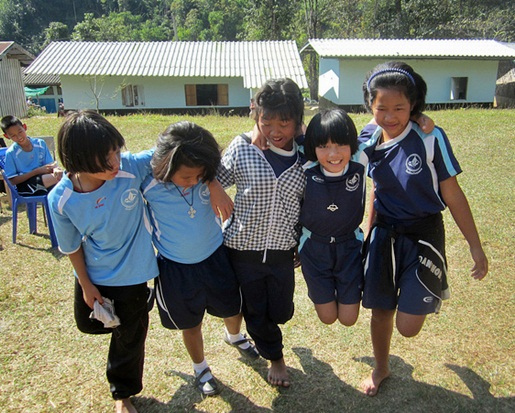Teaching in Thailand can be incredibly fun -- copyright Children's Organization of Southeast Asia, Creative Commons