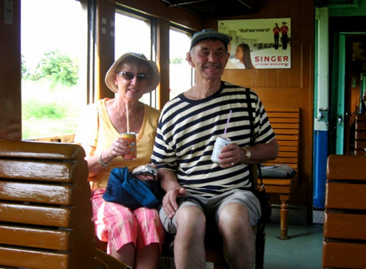 American retirees in Thailand
