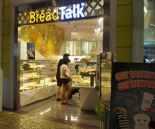 bread talk at terminal 21