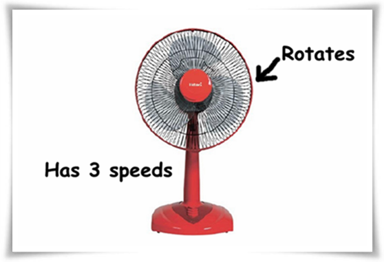 hatari electric desk fan red big why is this so difficult