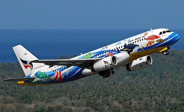 bangkok airways plane