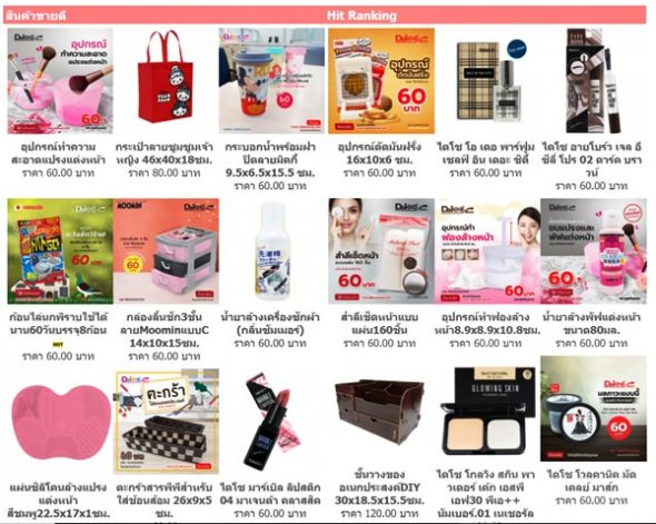 Daiso Shops in Bangkok, Thailand: Everything for 60 Baht
