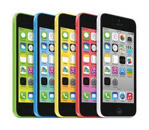 apple iphone 5C and 5S