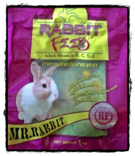 Mr rabbit rabbit pellets bangkok thailand