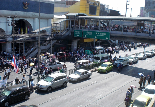 Bangkok PDRC anti government protests