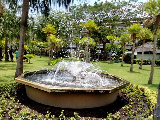 Chatuchak Park fountain