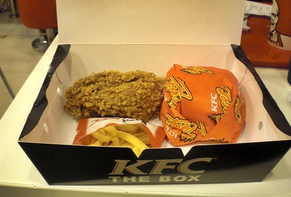 Bangkok kentucky fried chicken value sets are cheap and - Kentucky french chicken ...