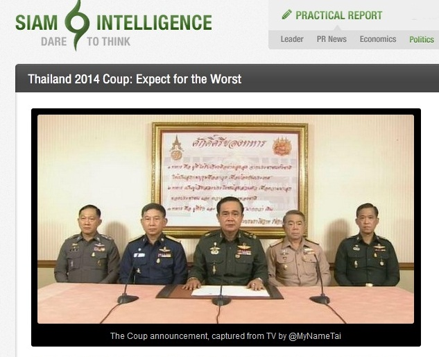 siam intelligence expect the worst