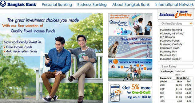 bangkok bank website