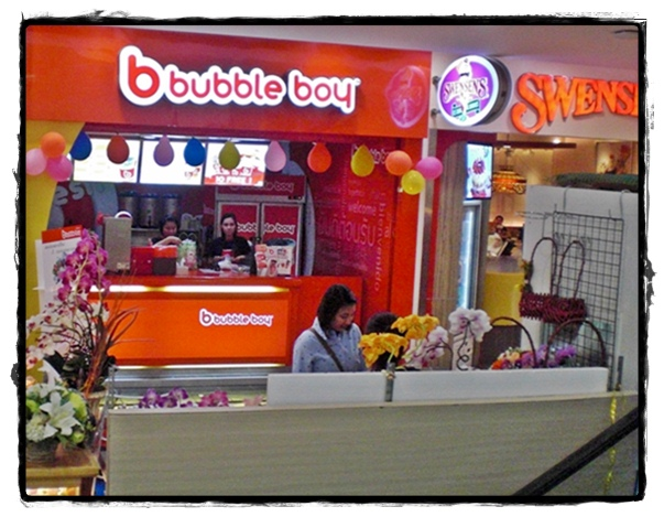 Bubble Boy tea Thailand