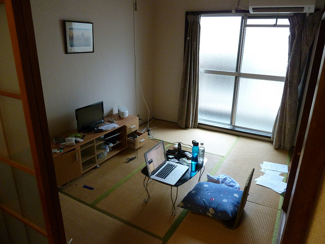 tatami room japanese apartment