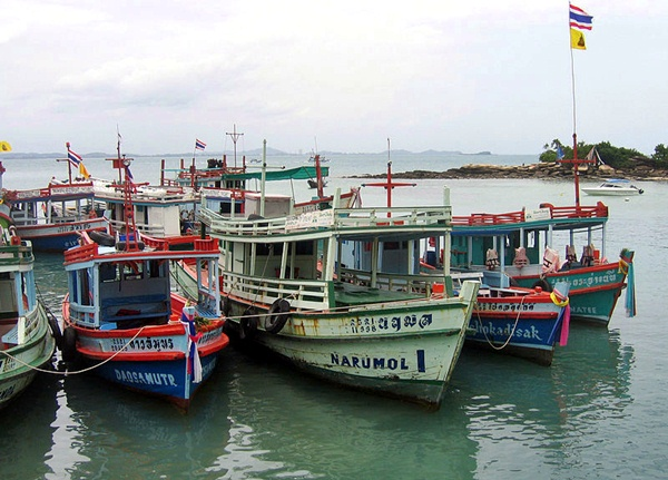 boat transport to koh samet