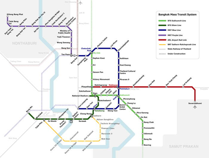 Is there an airport railway link from Bangkok\'s Suvarnabhumi Airport ...